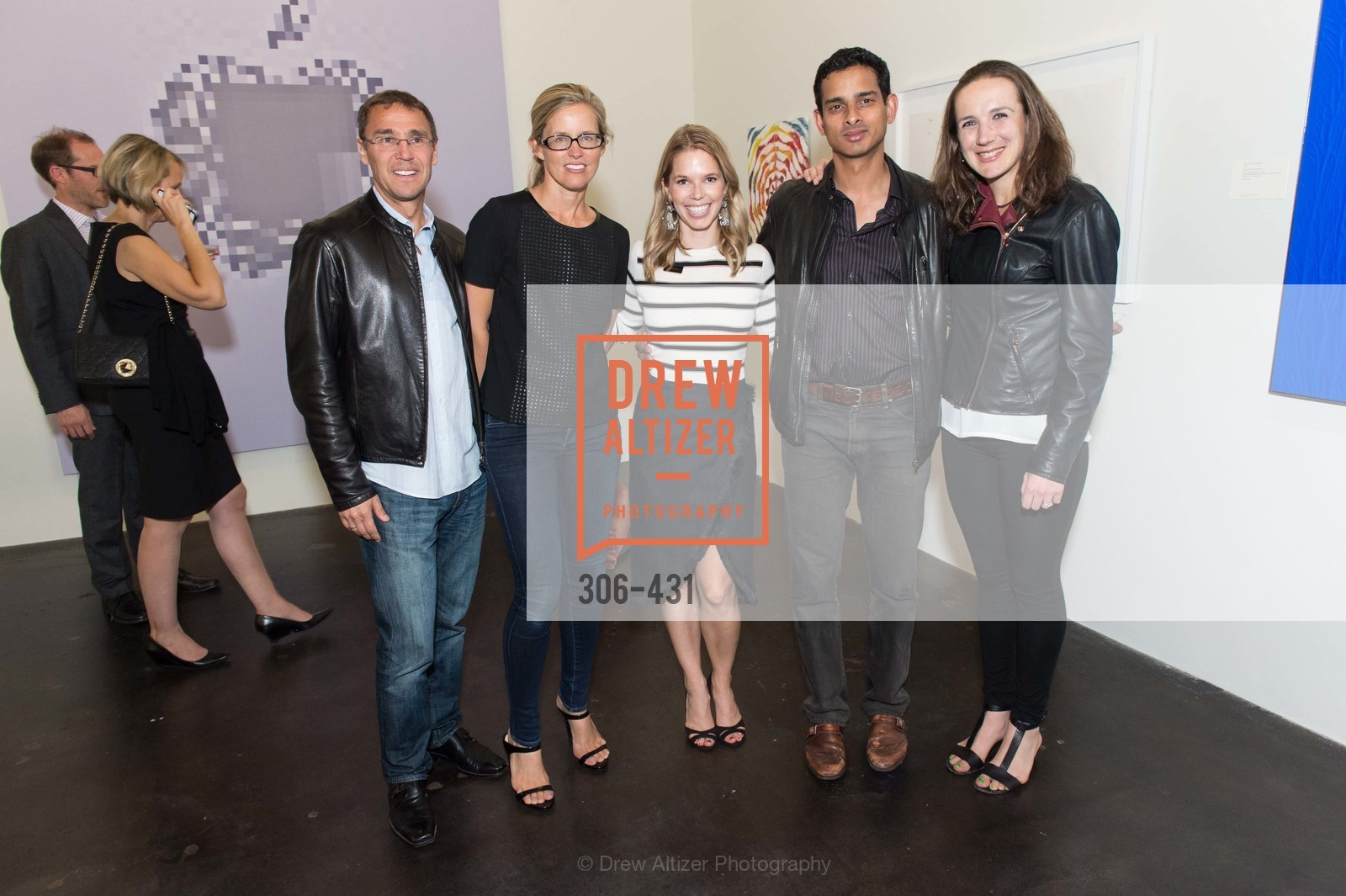 Nicole Simon, Courtney Kremers, Arjunn Rajeswarni, Artsy + Sotheby's Closing Party, Fused. 1401 16th Street, October 30th, 2015