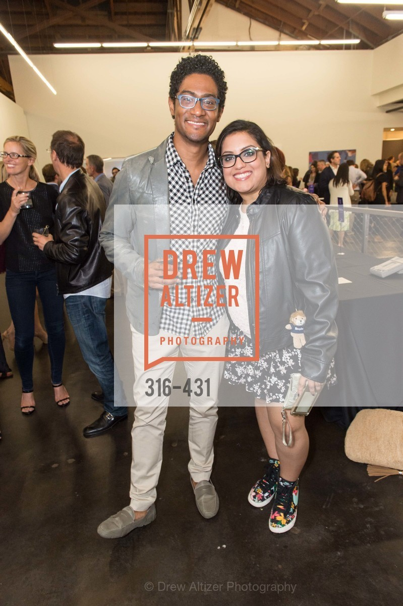 Coy Byron, Pallavi Rannarain, Artsy + Sotheby's Closing Party, Fused. 1401 16th Street, October 30th, 2015,Drew Altizer, Drew Altizer Photography, full-service agency, private events, San Francisco photographer, photographer california