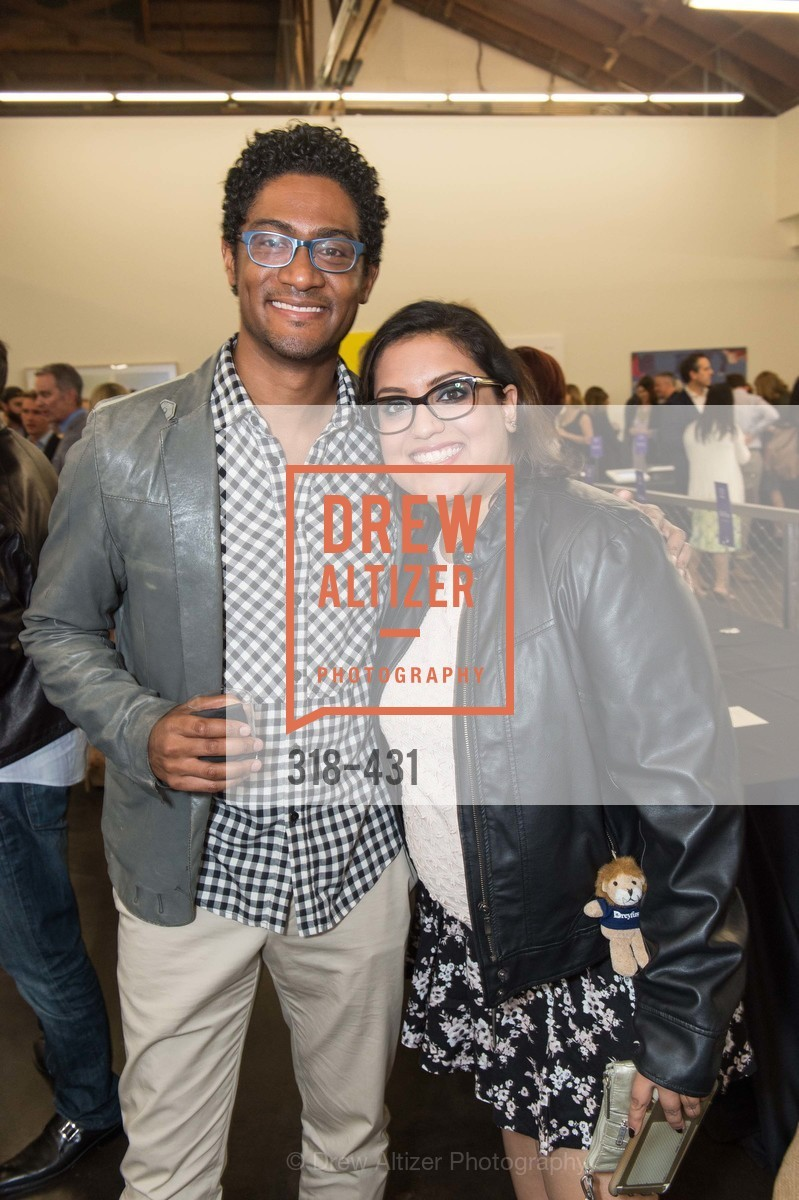 Coy Byron, Pallavi Rannarain, Artsy + Sotheby's Closing Party, Fused. 1401 16th Street, October 30th, 2015,Drew Altizer, Drew Altizer Photography, full-service event agency, private events, San Francisco photographer, photographer California