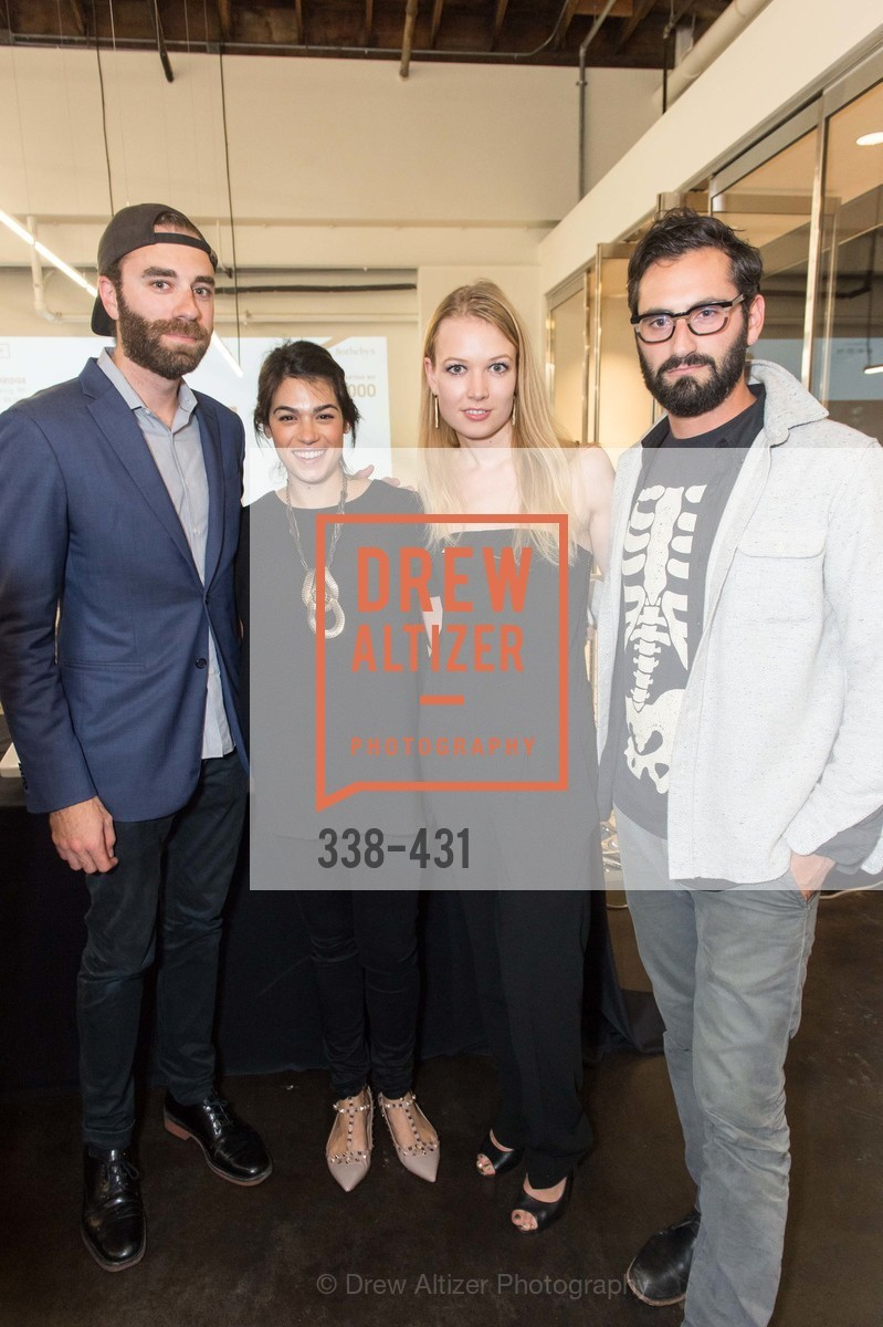 Matthew Scullin, Rebecca Rathael, Elena Soboleva, Joseph Becker, Artsy + Sotheby's Closing Party, Fused. 1401 16th Street, October 30th, 2015,Drew Altizer, Drew Altizer Photography, full-service agency, private events, San Francisco photographer, photographer california