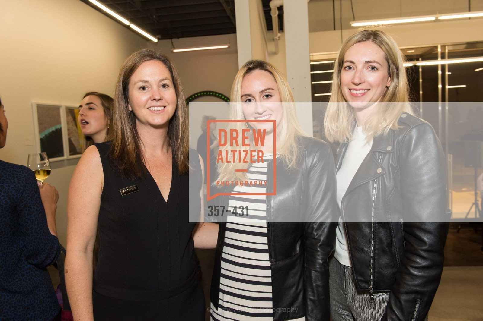 Sarah Shepard, Sydney Lalonde, Emily Proud, Artsy + Sotheby's Closing Party, Fused. 1401 16th Street, October 30th, 2015,Drew Altizer, Drew Altizer Photography, full-service agency, private events, San Francisco photographer, photographer california