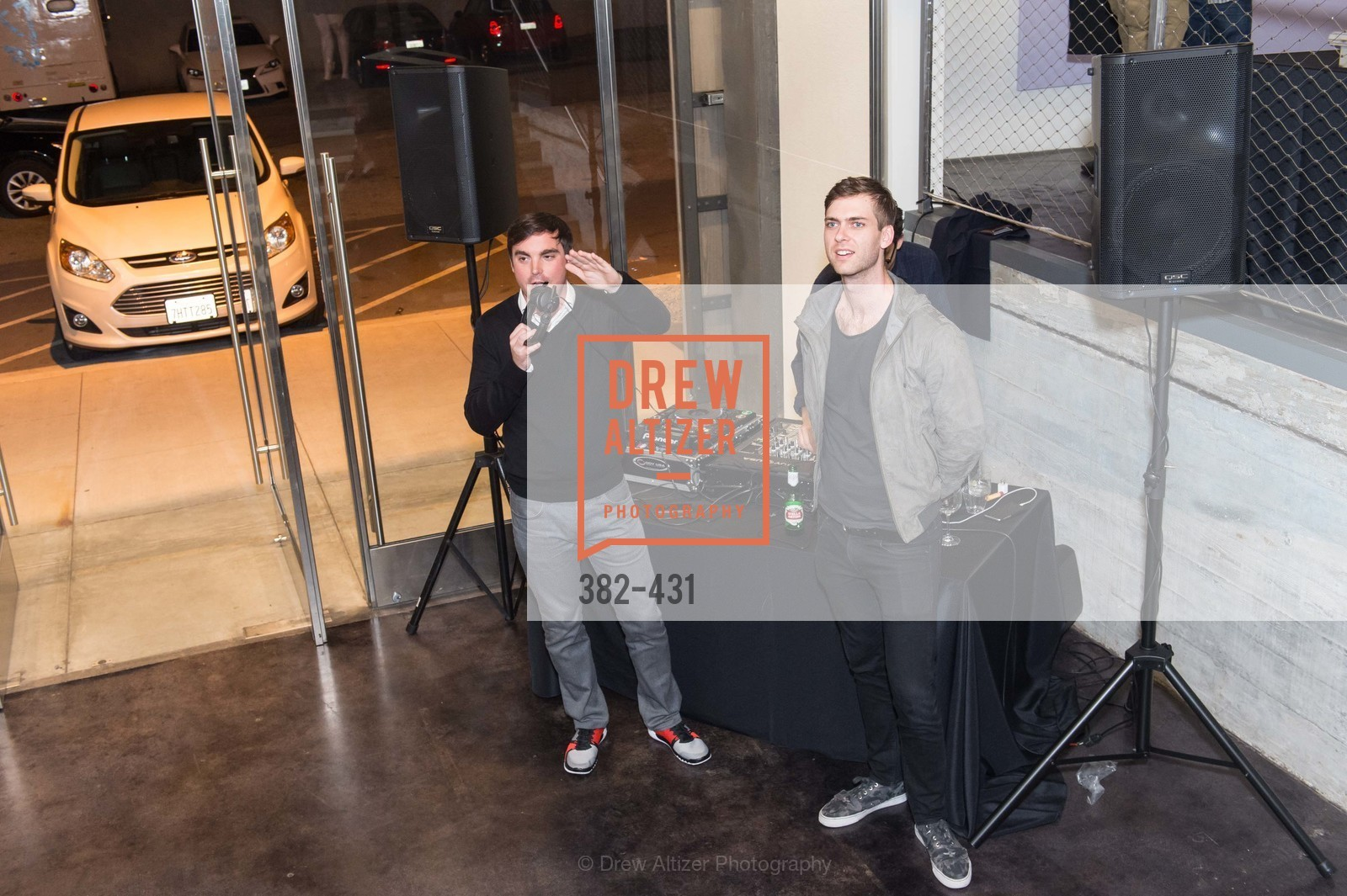 Charles Moffett, Carter Cleveland, Artsy + Sotheby's Closing Party, Fused. 1401 16th Street, October 30th, 2015,Drew Altizer, Drew Altizer Photography, full-service agency, private events, San Francisco photographer, photographer california
