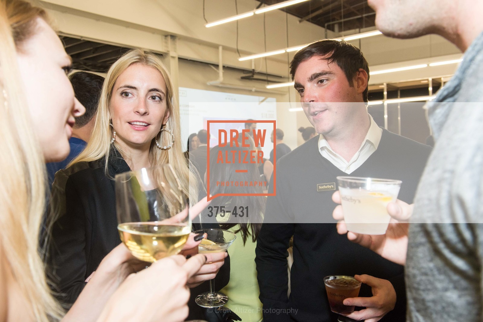 Elena Soboleva, Charles Moffett, Artsy + Sotheby's Closing Party, Fused. 1401 16th Street, October 30th, 2015,Drew Altizer, Drew Altizer Photography, full-service agency, private events, San Francisco photographer, photographer california