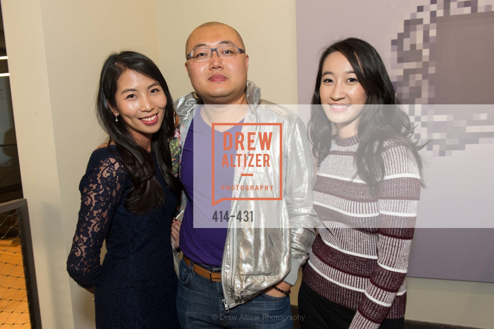 Ivan Au, Lou Li, Artsy + Sotheby's Closing Party, Fused. 1401 16th Street, October 30th, 2015,Drew Altizer, Drew Altizer Photography, full-service agency, private events, San Francisco photographer, photographer california