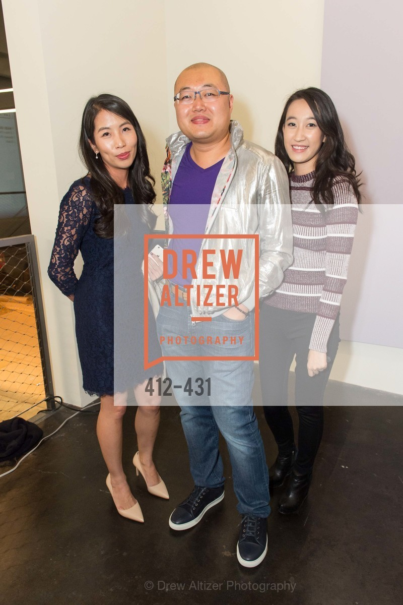 Ivan Au, Lou Li, Artsy + Sotheby's Closing Party, Fused. 1401 16th Street, October 30th, 2015