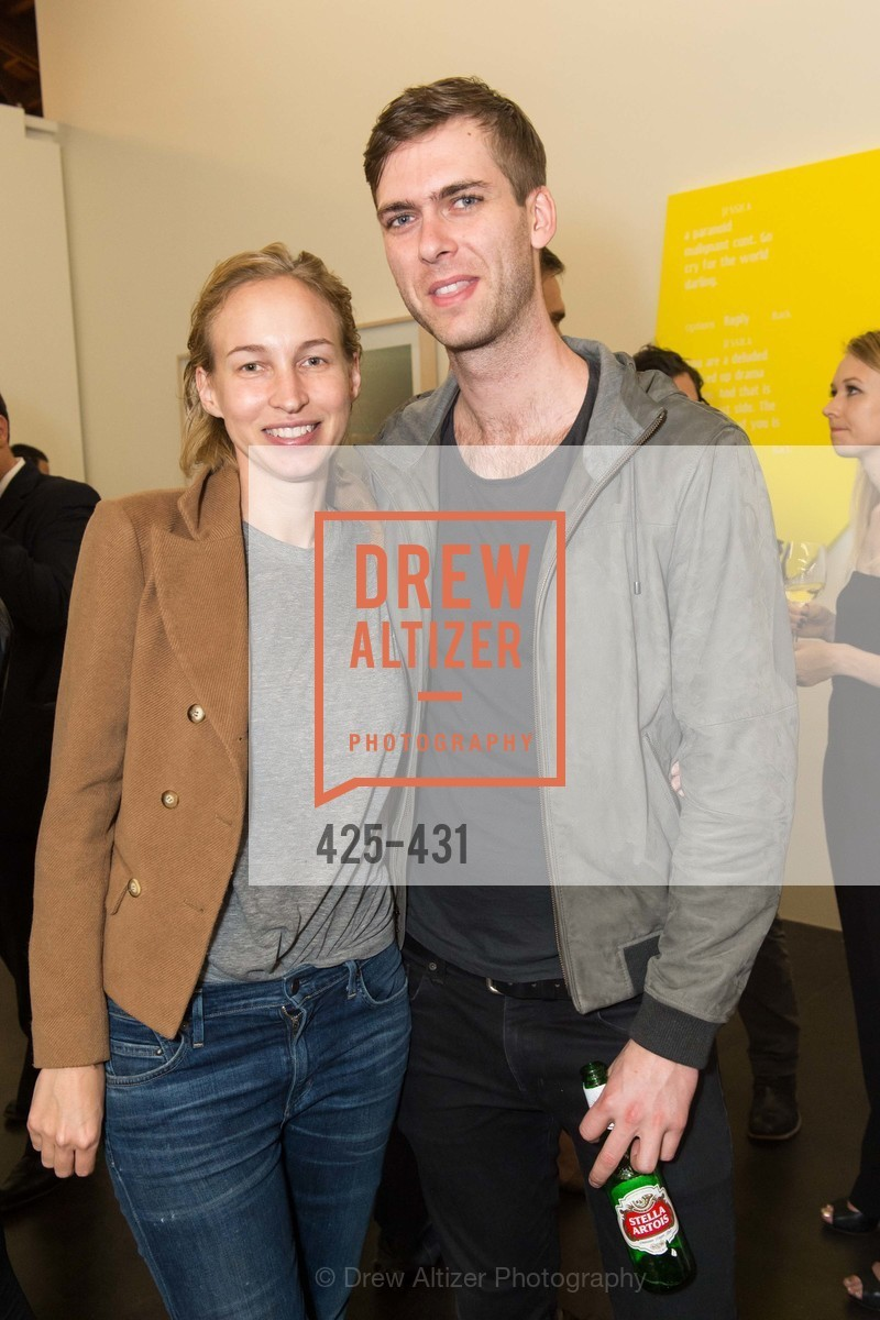 Hailey Mellin, Carter Cleveland, Artsy + Sotheby's Closing Party, Fused. 1401 16th Street, October 30th, 2015,Drew Altizer, Drew Altizer Photography, full-service event agency, private events, San Francisco photographer, photographer California