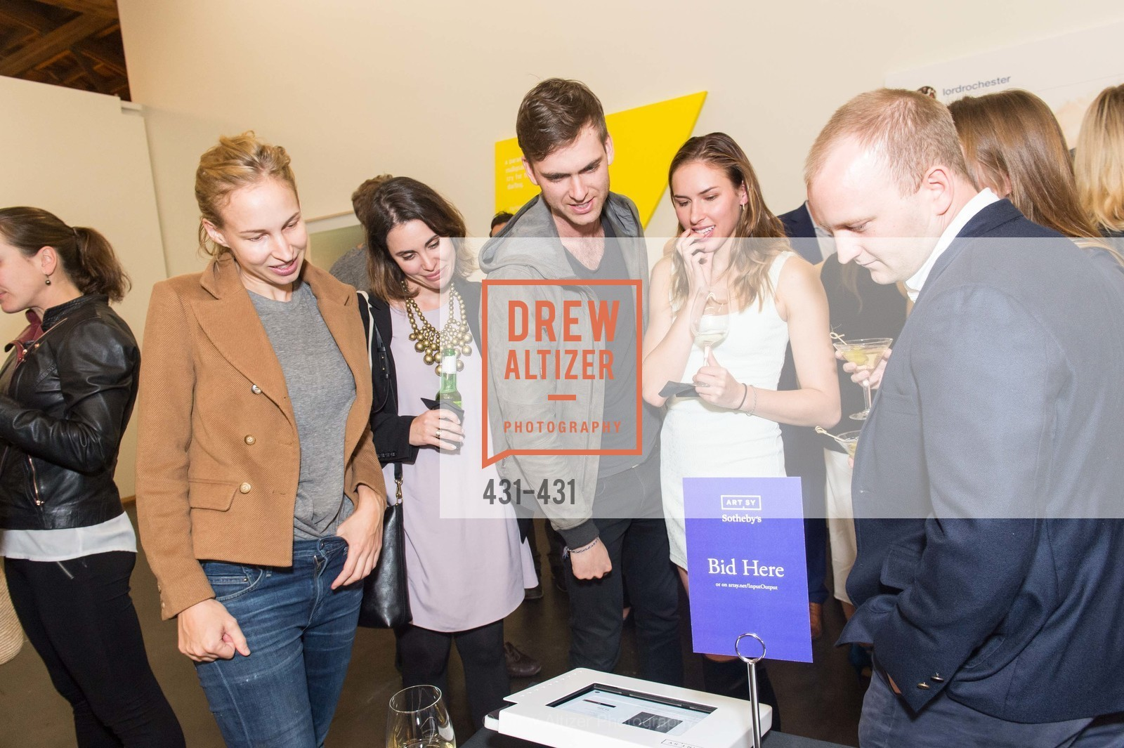 Hailey Melin, Carter Cleveland, Felicity Conrad, Artsy + Sotheby's Closing Party, Fused. 1401 16th Street, October 30th, 2015,Drew Altizer, Drew Altizer Photography, full-service event agency, private events, San Francisco photographer, photographer California