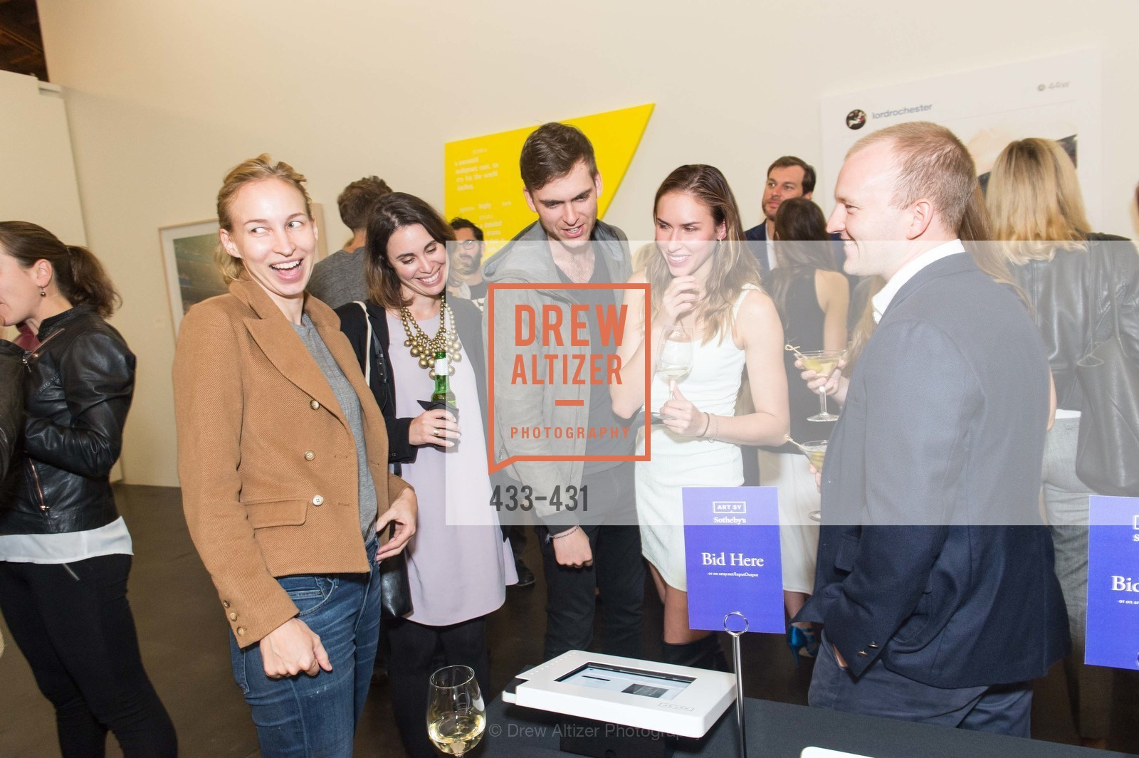 Hailey Melin, Carter Cleveland, Felicity Conrad, Artsy + Sotheby's Closing Party, Fused. 1401 16th Street, October 30th, 2015,Drew Altizer, Drew Altizer Photography, full-service agency, private events, San Francisco photographer, photographer california