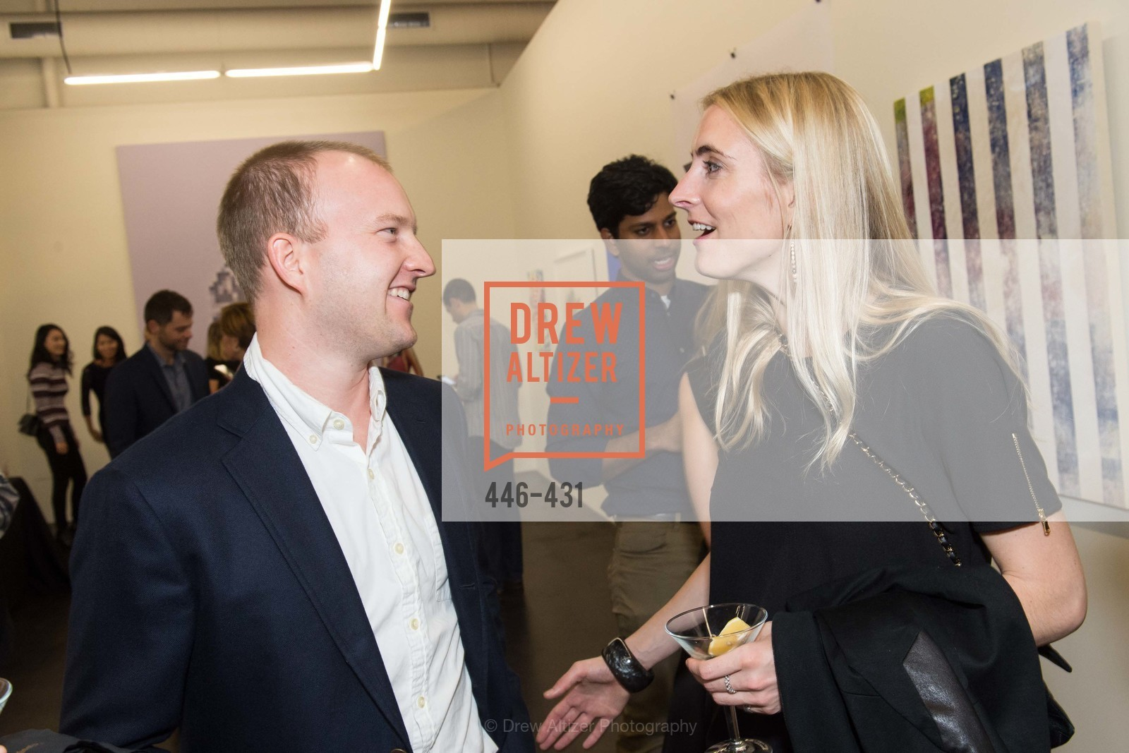 George McAdden, Alexis Humiston, Artsy + Sotheby's Closing Party, Fused. 1401 16th Street, October 30th, 2015,Drew Altizer, Drew Altizer Photography, full-service event agency, private events, San Francisco photographer, photographer California