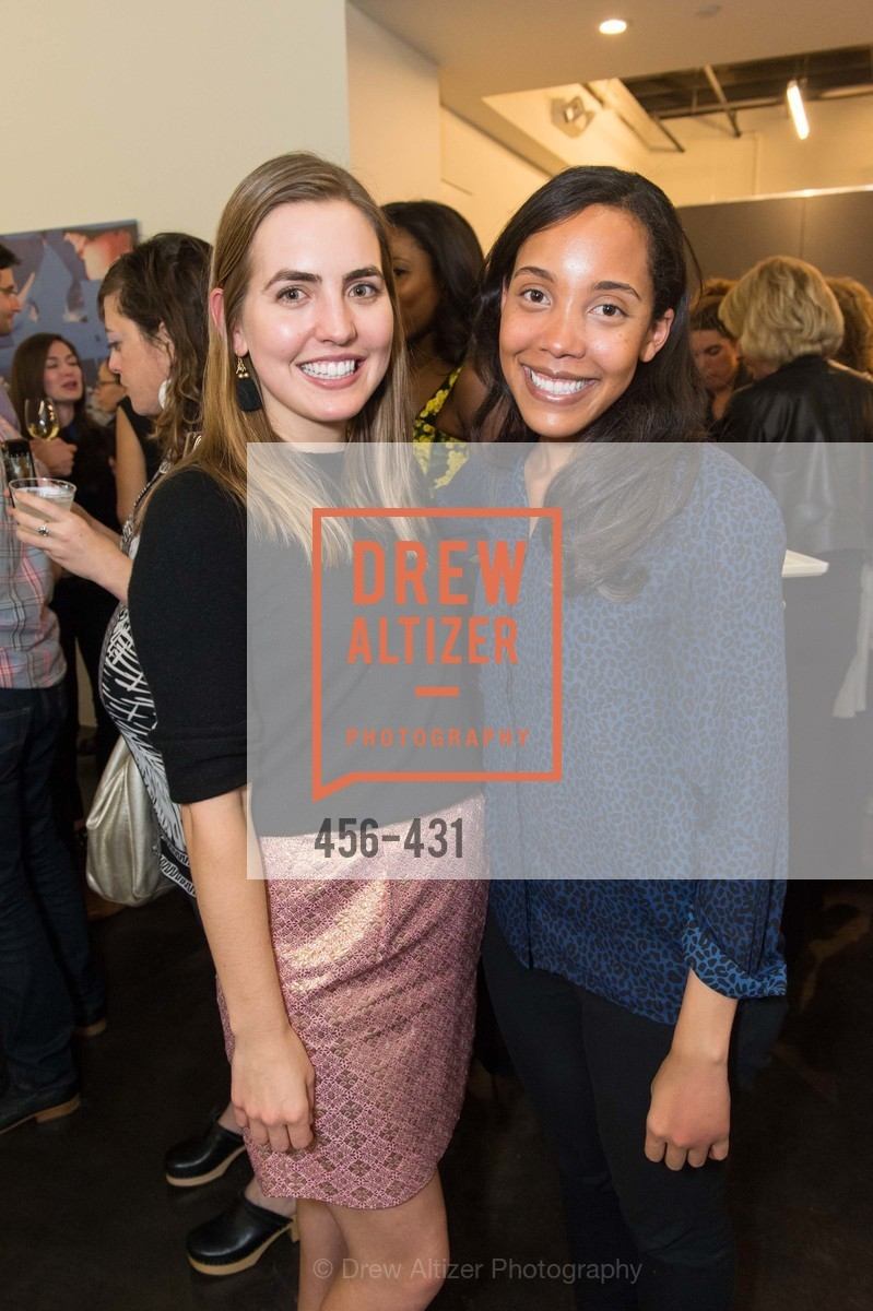 Megan Wessler, Allison Thomas, Artsy + Sotheby's Closing Party, Fused. 1401 16th Street, October 30th, 2015,Drew Altizer, Drew Altizer Photography, full-service agency, private events, San Francisco photographer, photographer california