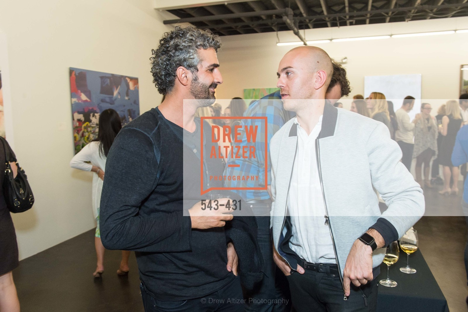 Amir Mortazavi, Uli Schriver, Artsy + Sotheby's Closing Party, Fused. 1401 16th Street, October 30th, 2015,Drew Altizer, Drew Altizer Photography, full-service agency, private events, San Francisco photographer, photographer california