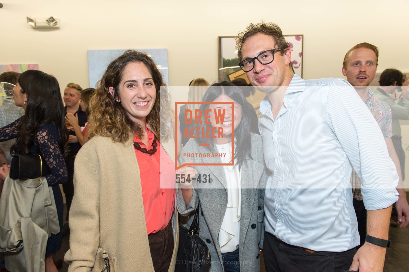 Cassidy Luithen, Nikki Meng, Chris Renner, Artsy + Sotheby's Closing Party, Fused. 1401 16th Street, October 30th, 2015,Drew Altizer, Drew Altizer Photography, full-service agency, private events, San Francisco photographer, photographer california