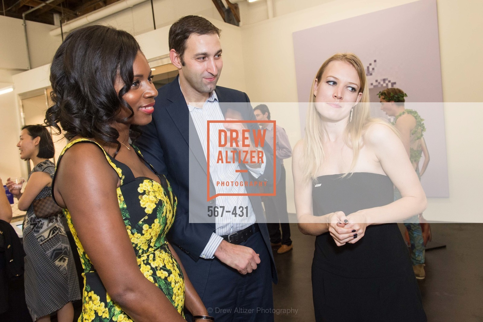 NIna Mundi, Daniel Doubrovkine, Elena Soboleva, Artsy + Sotheby's Closing Party, Fused. 1401 16th Street, October 30th, 2015,Drew Altizer, Drew Altizer Photography, full-service agency, private events, San Francisco photographer, photographer california
