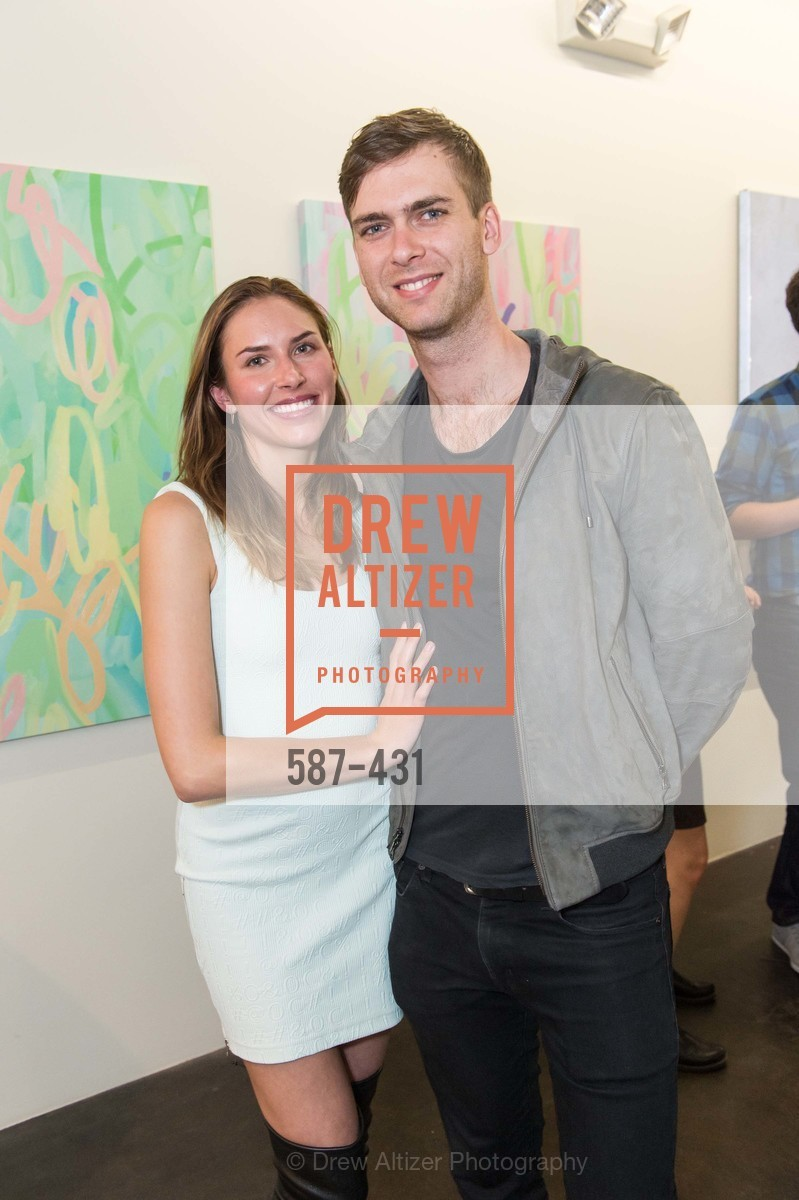 Felicity Conrad, Carter Cleveland, Artsy + Sotheby's Closing Party, Fused. 1401 16th Street, October 30th, 2015