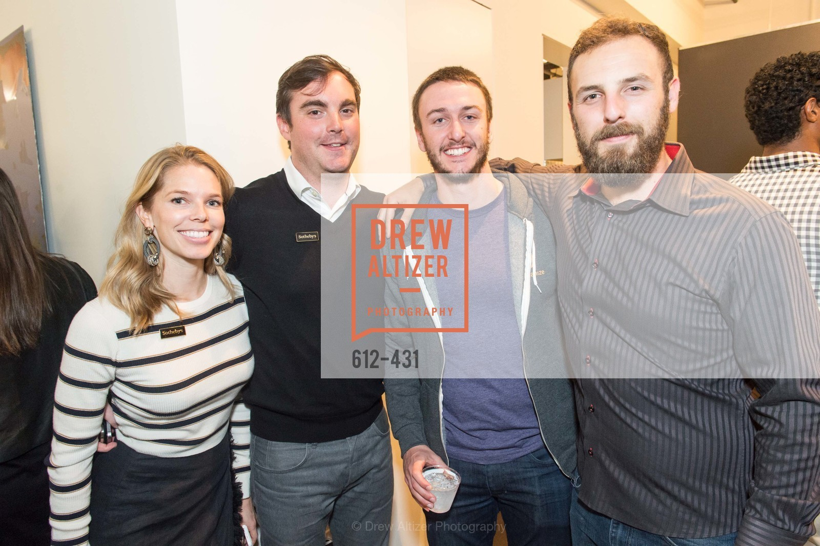 Cpurtney Kremers, Charles Moffett, Daniel Sherman, Artsy + Sotheby's Closing Party, Fused. 1401 16th Street, October 30th, 2015,Drew Altizer, Drew Altizer Photography, full-service agency, private events, San Francisco photographer, photographer california