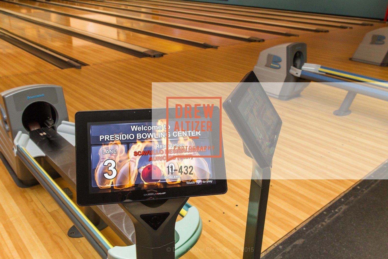 Atmosphere, ScavulloDesign Centric Builders Bowling Party, Presidio Bowl. 93 Moraga Ave, October 29th, 2015,Drew Altizer, Drew Altizer Photography, full-service agency, private events, San Francisco photographer, photographer california