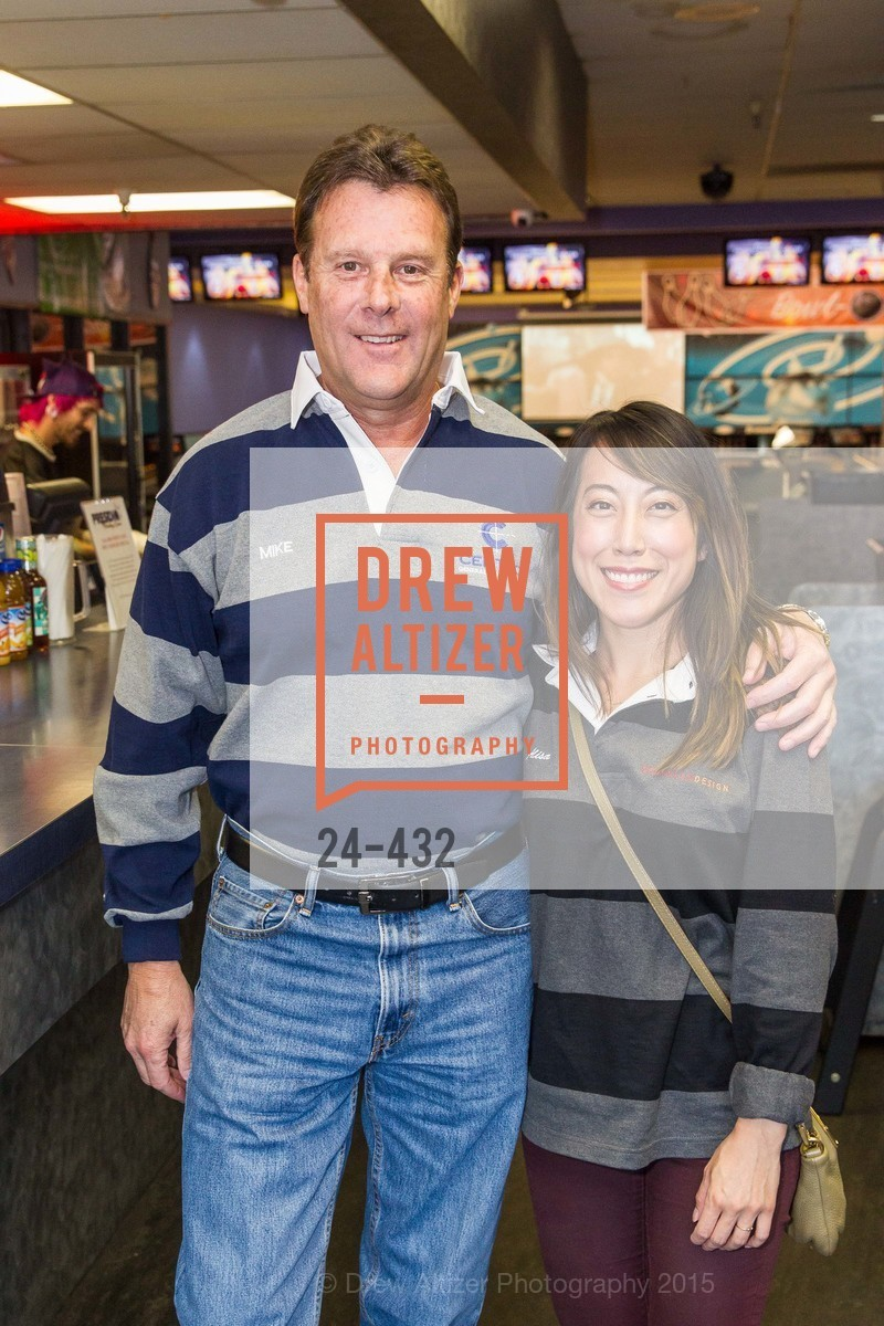 Mike Sweeney, Alisa Tanphanich, ScavulloDesign Centric Builders Bowling Party, Presidio Bowl. 93 Moraga Ave, October 29th, 2015,Drew Altizer, Drew Altizer Photography, full-service agency, private events, San Francisco photographer, photographer california