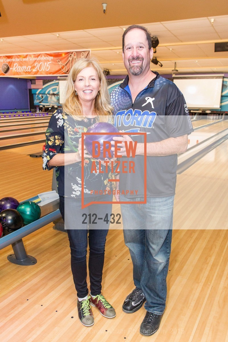 Paula Bennett, Victor Meyerhoff, ScavulloDesign Centric Builders Bowling Party, Presidio Bowl. 93 Moraga Ave, October 29th, 2015,Drew Altizer, Drew Altizer Photography, full-service agency, private events, San Francisco photographer, photographer california