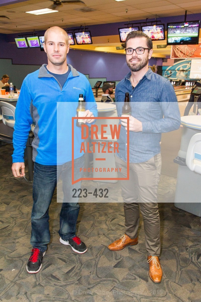 Mike Commaroto, Phillip Bascio, ScavulloDesign Centric Builders Bowling Party, Presidio Bowl. 93 Moraga Ave, October 29th, 2015,Drew Altizer, Drew Altizer Photography, full-service agency, private events, San Francisco photographer, photographer california