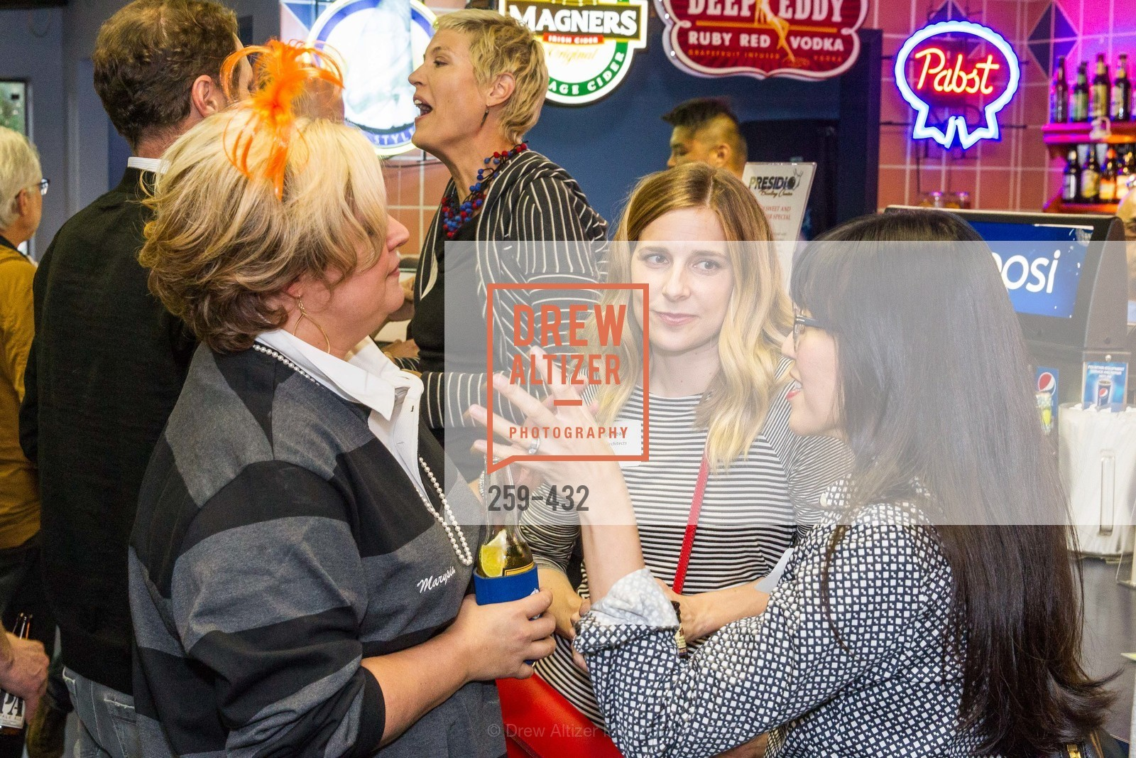 Marysia Rybock, Monica Ream, ScavulloDesign Centric Builders Bowling Party, Presidio Bowl. 93 Moraga Ave, October 29th, 2015,Drew Altizer, Drew Altizer Photography, full-service agency, private events, San Francisco photographer, photographer california