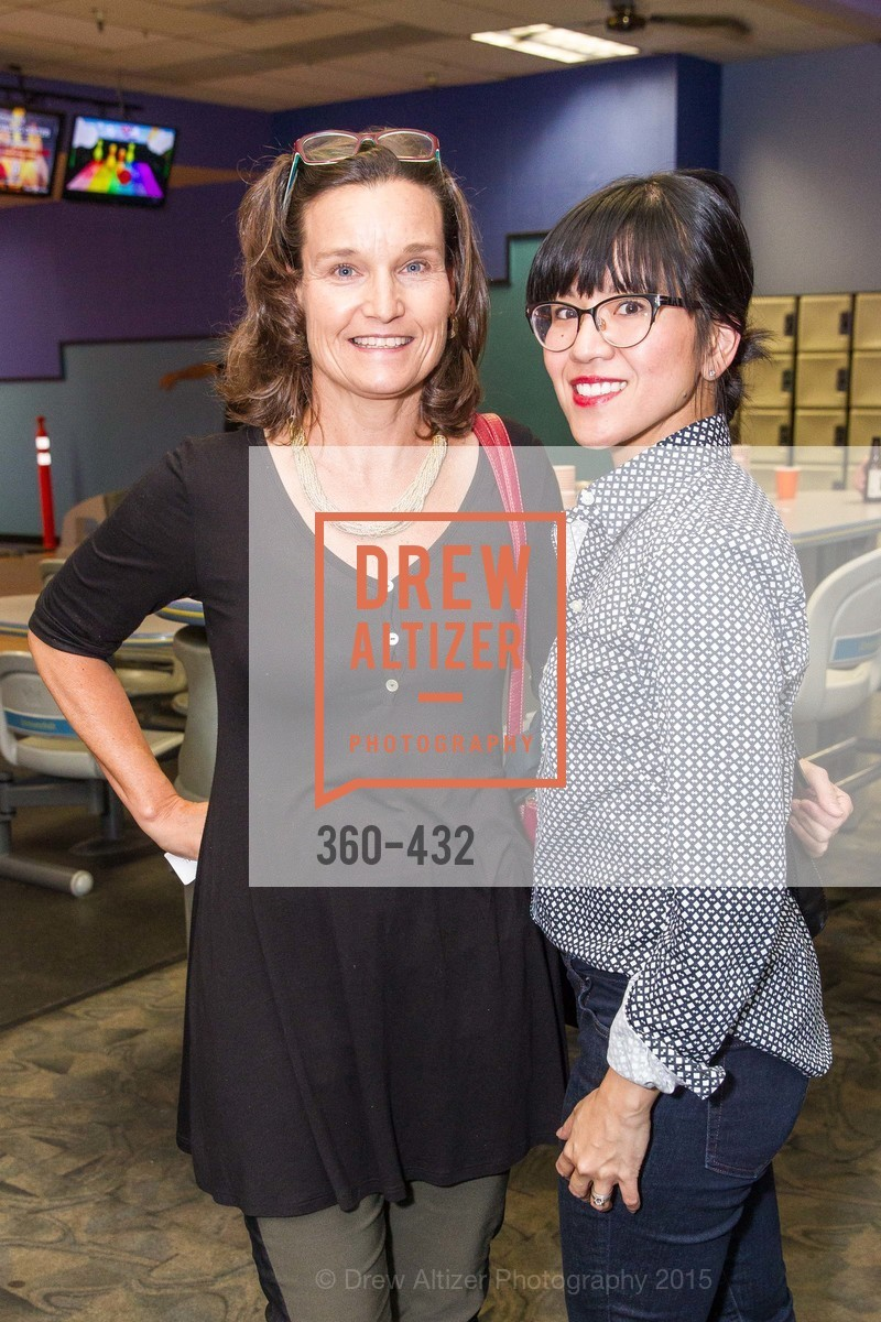 Leslie LeMair, Rachelle Dural, ScavulloDesign Centric Builders Bowling Party, Presidio Bowl. 93 Moraga Ave, October 29th, 2015,Drew Altizer, Drew Altizer Photography, full-service agency, private events, San Francisco photographer, photographer california