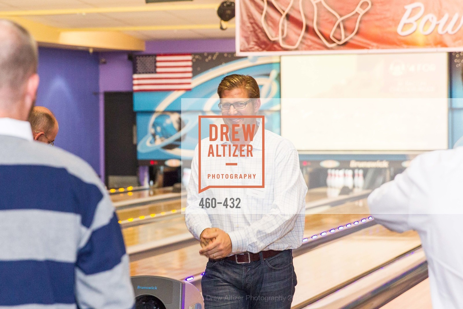 Brian Koch, ScavulloDesign Centric Builders Bowling Party, Presidio Bowl. 93 Moraga Ave, October 29th, 2015,Drew Altizer, Drew Altizer Photography, full-service agency, private events, San Francisco photographer, photographer california