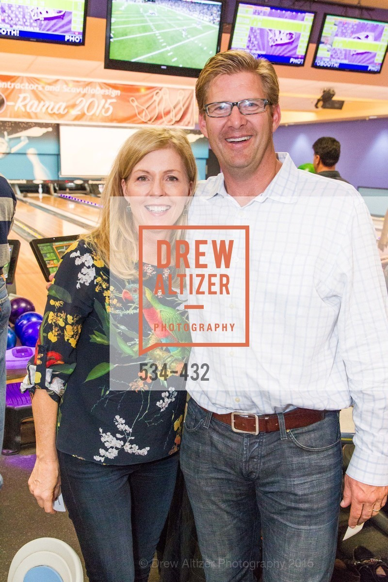 Paula Bennett, Brian Koch, ScavulloDesign Centric Builders Bowling Party, Presidio Bowl. 93 Moraga Ave, October 29th, 2015,Drew Altizer, Drew Altizer Photography, full-service agency, private events, San Francisco photographer, photographer california