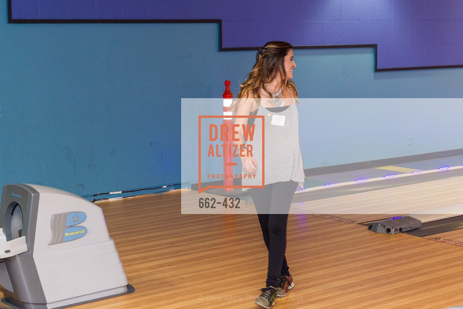 Michelle Blasi, ScavulloDesign Centric Builders Bowling Party, Presidio Bowl. 93 Moraga Ave, October 29th, 2015,Drew Altizer, Drew Altizer Photography, full-service agency, private events, San Francisco photographer, photographer california
