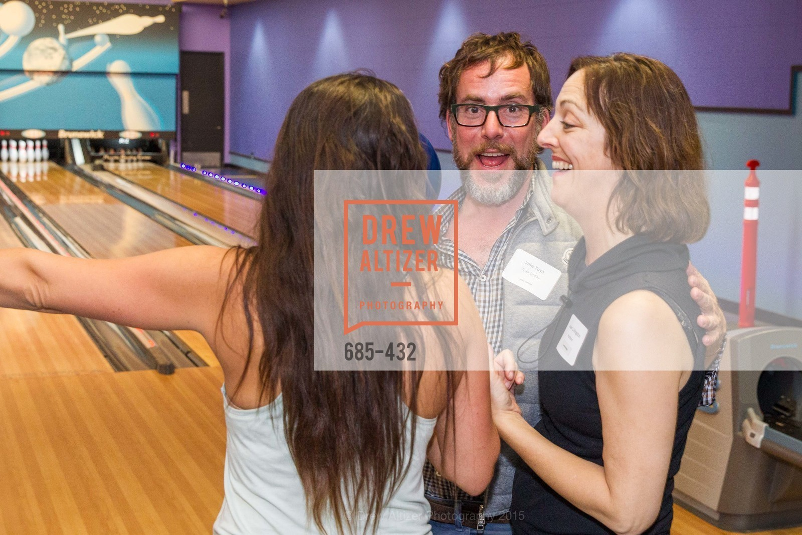 John Toya, Joan Livingston, ScavulloDesign Centric Builders Bowling Party, Presidio Bowl. 93 Moraga Ave, October 29th, 2015,Drew Altizer, Drew Altizer Photography, full-service event agency, private events, San Francisco photographer, photographer California