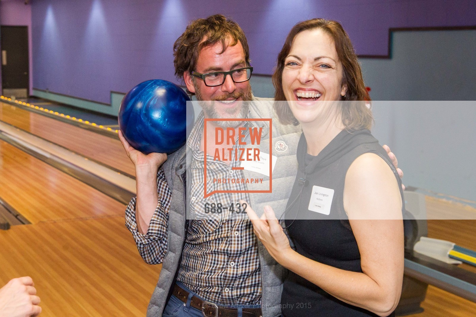John Toya, Joan Livingston, ScavulloDesign Centric Builders Bowling Party, Presidio Bowl. 93 Moraga Ave, October 29th, 2015,Drew Altizer, Drew Altizer Photography, full-service agency, private events, San Francisco photographer, photographer california