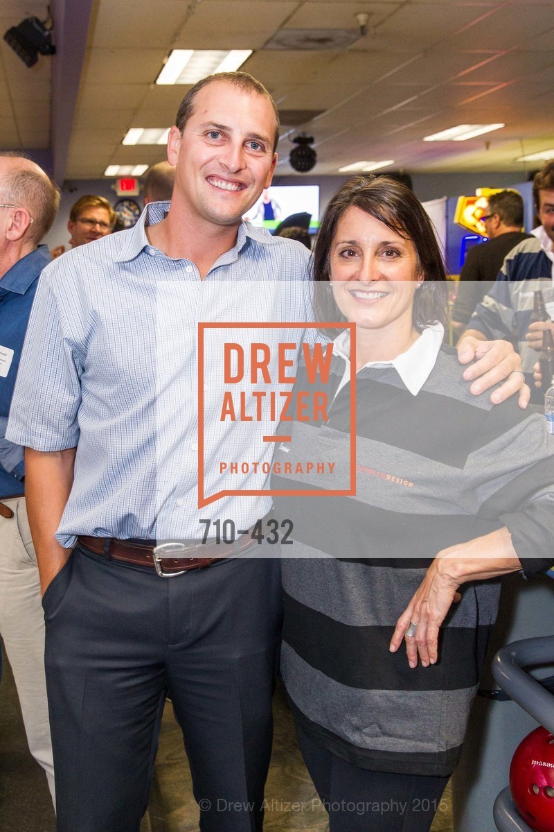Tom Catalano, Janine Aurichio, ScavulloDesign Centric Builders Bowling Party, Presidio Bowl. 93 Moraga Ave, October 29th, 2015,Drew Altizer, Drew Altizer Photography, full-service agency, private events, San Francisco photographer, photographer california
