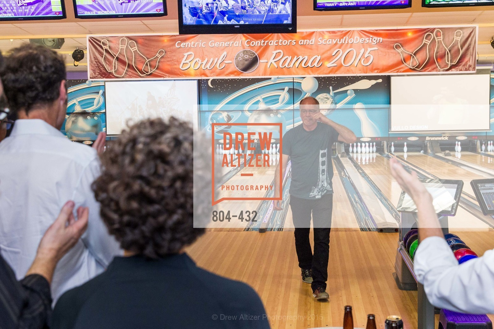 Terry Bryant, ScavulloDesign Centric Builders Bowling Party, Presidio Bowl. 93 Moraga Ave, October 29th, 2015,Drew Altizer, Drew Altizer Photography, full-service agency, private events, San Francisco photographer, photographer california