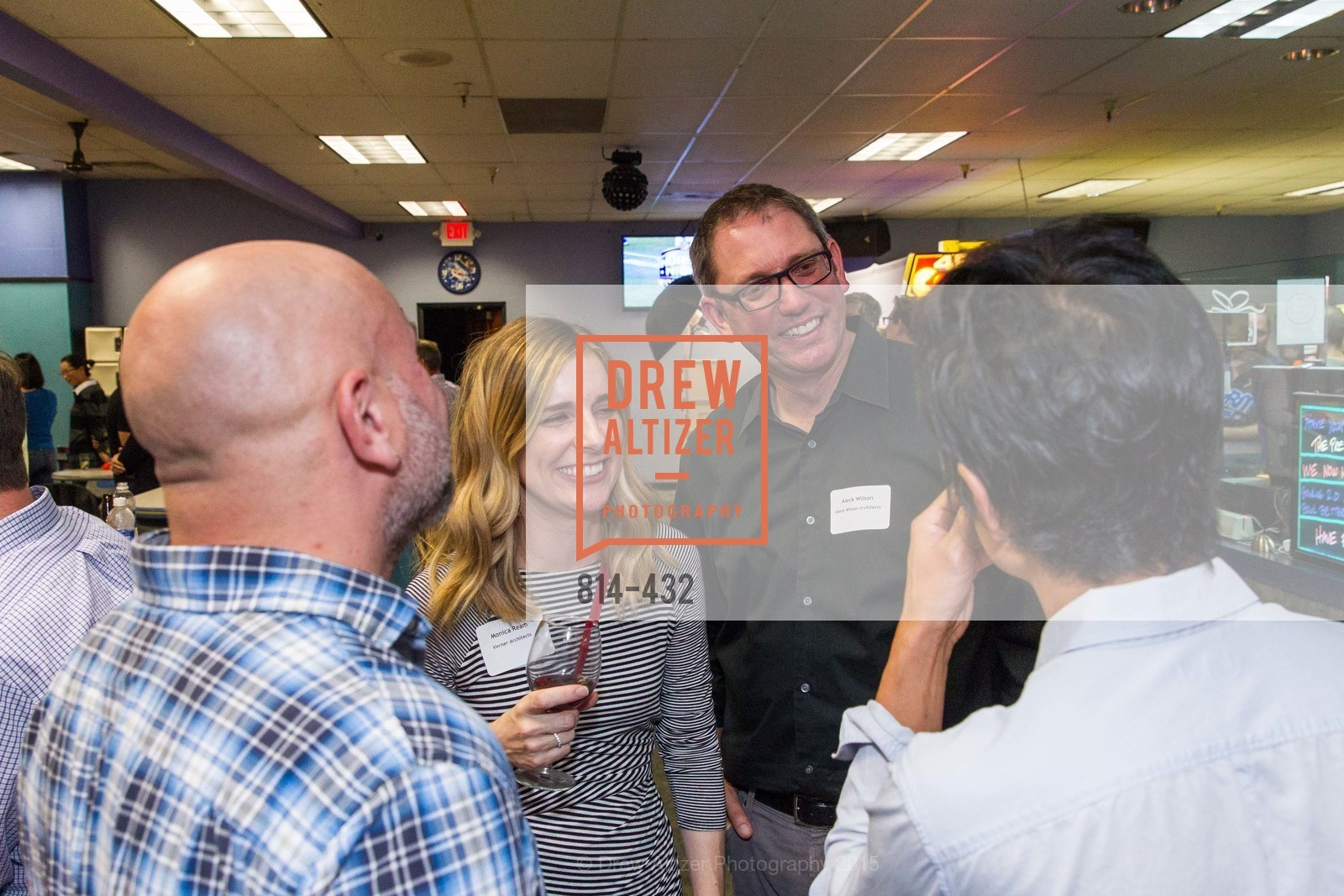 Monica Ream, Aleck Wilson, ScavulloDesign Centric Builders Bowling Party, Presidio Bowl. 93 Moraga Ave, October 29th, 2015,Drew Altizer, Drew Altizer Photography, full-service agency, private events, San Francisco photographer, photographer california