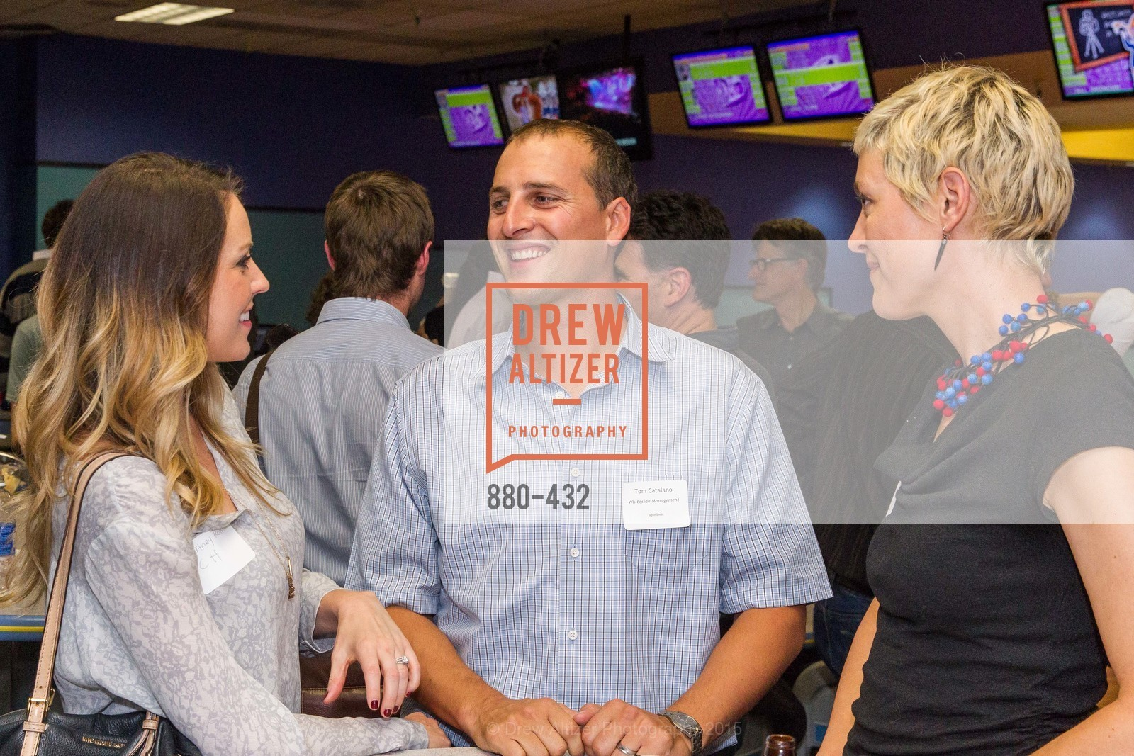 Tom Catalano, Eliza Hart, ScavulloDesign Centric Builders Bowling Party, Presidio Bowl. 93 Moraga Ave, October 29th, 2015,Drew Altizer, Drew Altizer Photography, full-service agency, private events, San Francisco photographer, photographer california