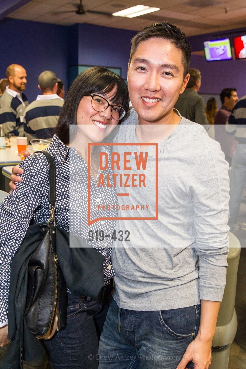Rachelle Dural, Billy Lee, ScavulloDesign Centric Builders Bowling Party, Presidio Bowl. 93 Moraga Ave, October 29th, 2015,Drew Altizer, Drew Altizer Photography, full-service agency, private events, San Francisco photographer, photographer california