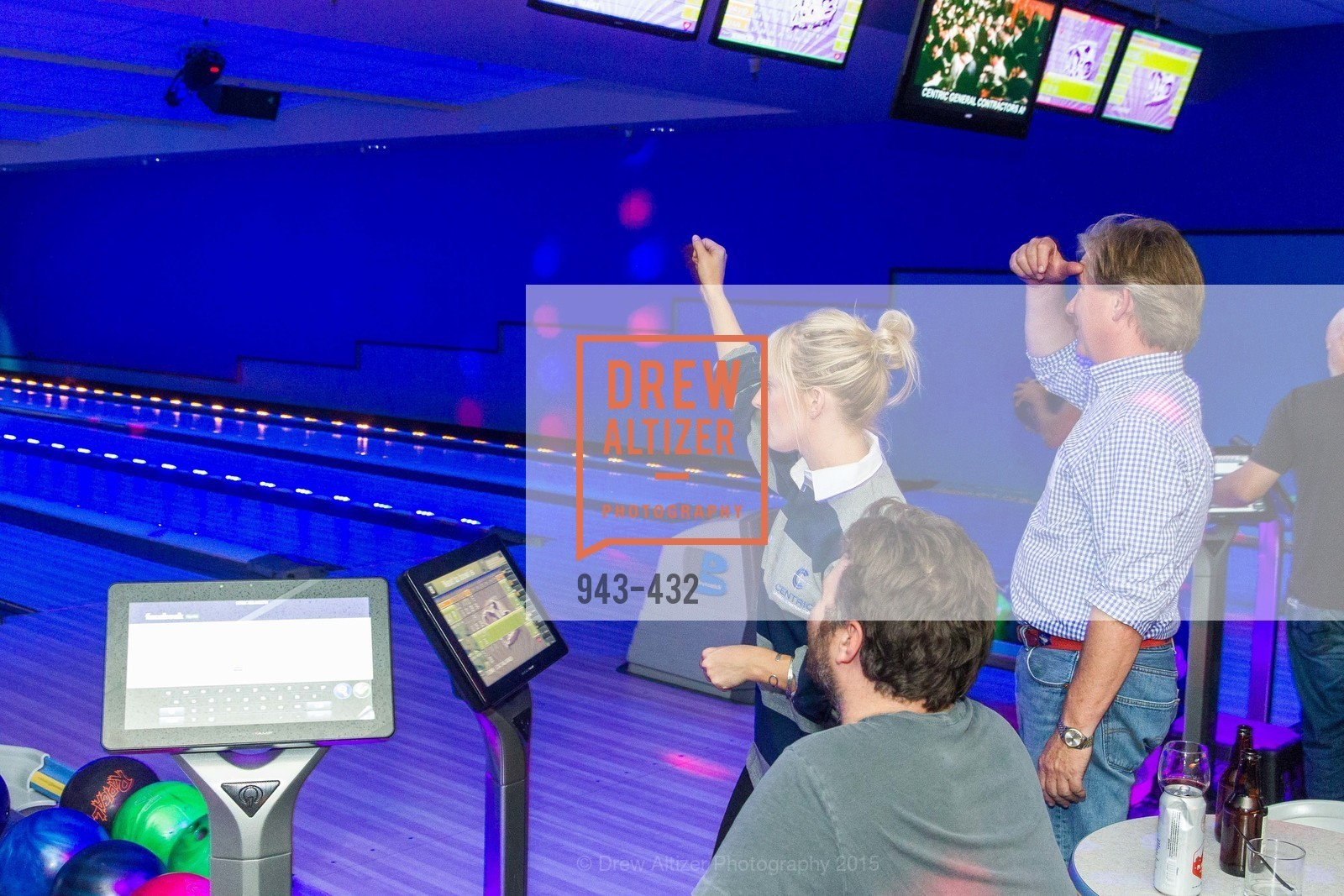 Lindsay Herdell, Don Horton, ScavulloDesign Centric Builders Bowling Party, Presidio Bowl. 93 Moraga Ave, October 29th, 2015,Drew Altizer, Drew Altizer Photography, full-service agency, private events, San Francisco photographer, photographer california