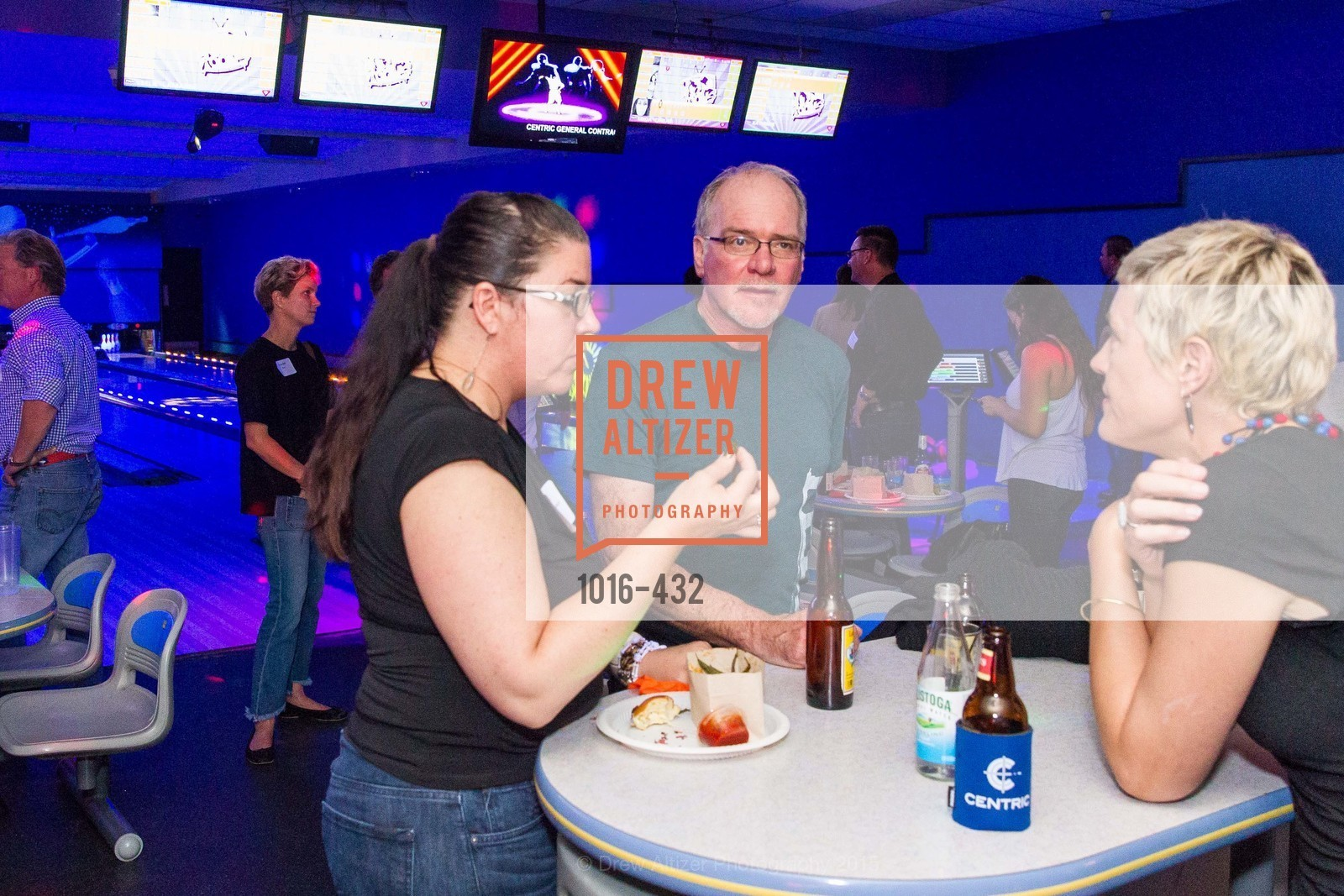 Reba Jones, Terry Bryant, Eliza Hart, ScavulloDesign Centric Builders Bowling Party, Presidio Bowl. 93 Moraga Ave, October 29th, 2015,Drew Altizer, Drew Altizer Photography, full-service agency, private events, San Francisco photographer, photographer california