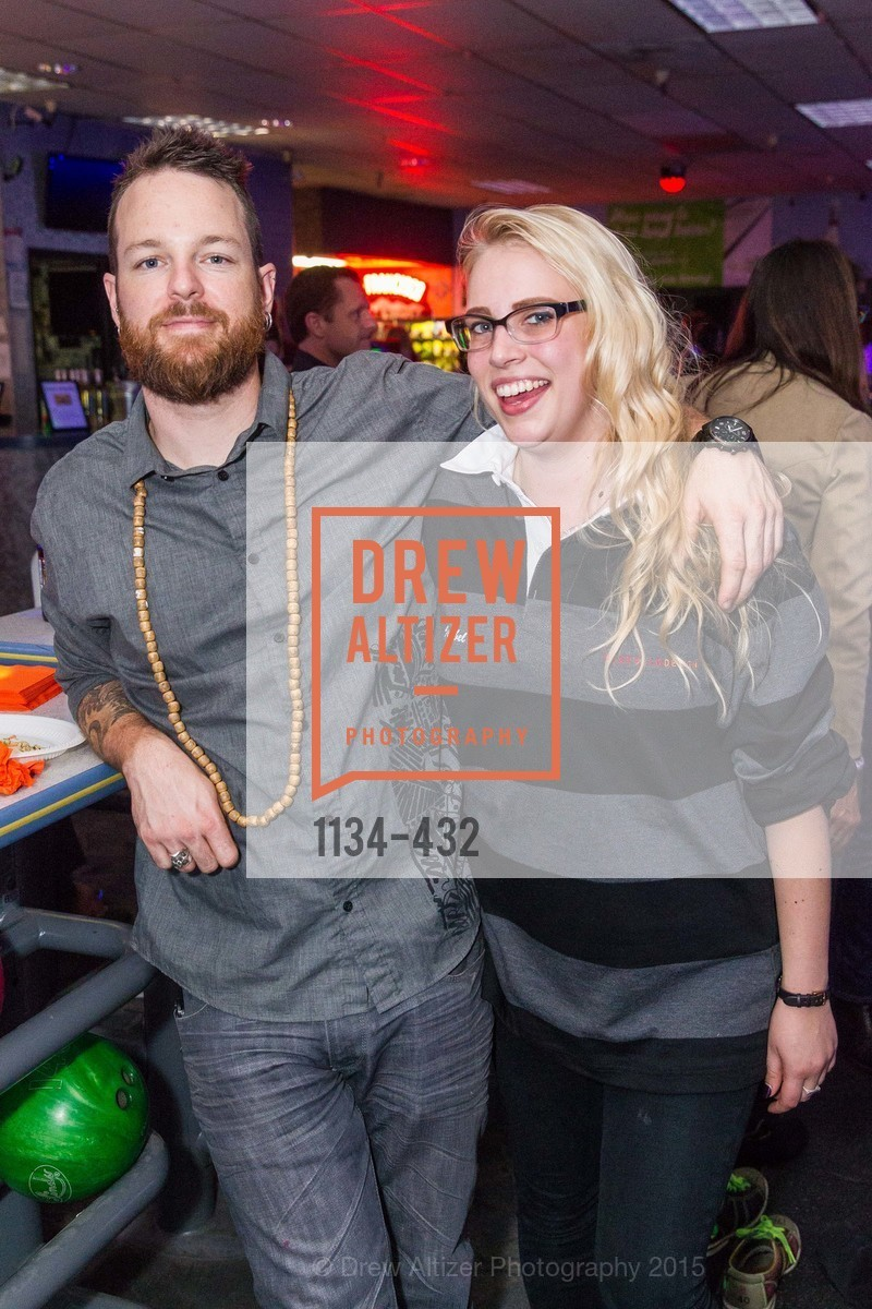 Evan Wilson, Isabel Solomon, ScavulloDesign Centric Builders Bowling Party, Presidio Bowl. 93 Moraga Ave, October 29th, 2015,Drew Altizer, Drew Altizer Photography, full-service agency, private events, San Francisco photographer, photographer california