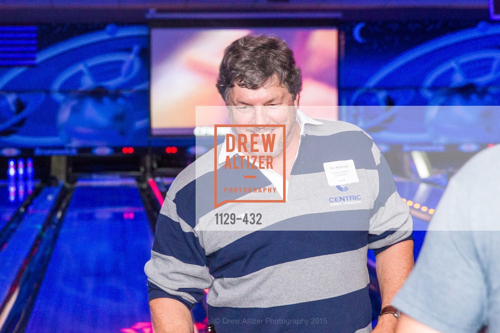Tim McDonald, ScavulloDesign Centric Builders Bowling Party, Presidio Bowl. 93 Moraga Ave, October 29th, 2015,Drew Altizer, Drew Altizer Photography, full-service agency, private events, San Francisco photographer, photographer california