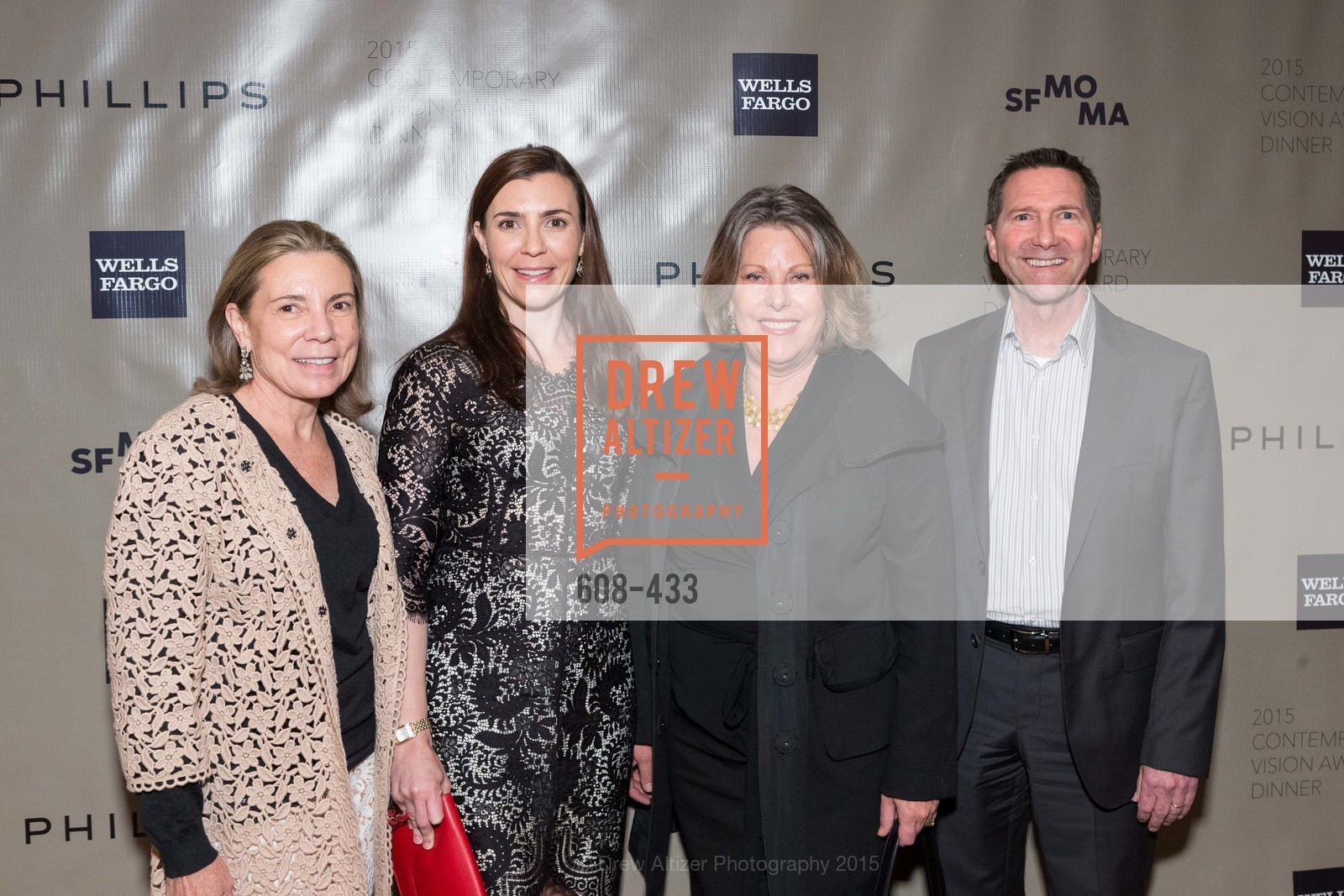 Gretchen Frank, Alexandra Niederauer, Colleen Keller, Peter Keller, SFMOMA Contemporary Vision Award, Regency Ballroom. 1300 Van Ness, November 3rd, 2015,Drew Altizer, Drew Altizer Photography, full-service agency, private events, San Francisco photographer, photographer california