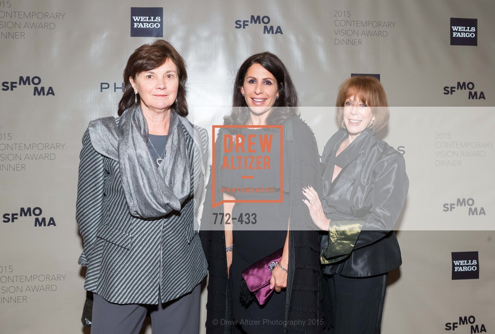 Marie Perchal, Lisa Grotts, Barbara Dickson, SFMOMA Contemporary Vision Award, Regency Ballroom. 1300 Van Ness, November 3rd, 2015,Drew Altizer, Drew Altizer Photography, full-service agency, private events, San Francisco photographer, photographer california