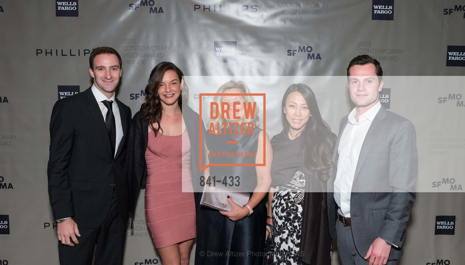 Cedric Schwab, Talia Touboul, Florence Buatois, Elena Gao, Matthew Decandia, SFMOMA Contemporary Vision Award, Regency Ballroom. 1300 Van Ness, November 3rd, 2015,Drew Altizer, Drew Altizer Photography, full-service agency, private events, San Francisco photographer, photographer california