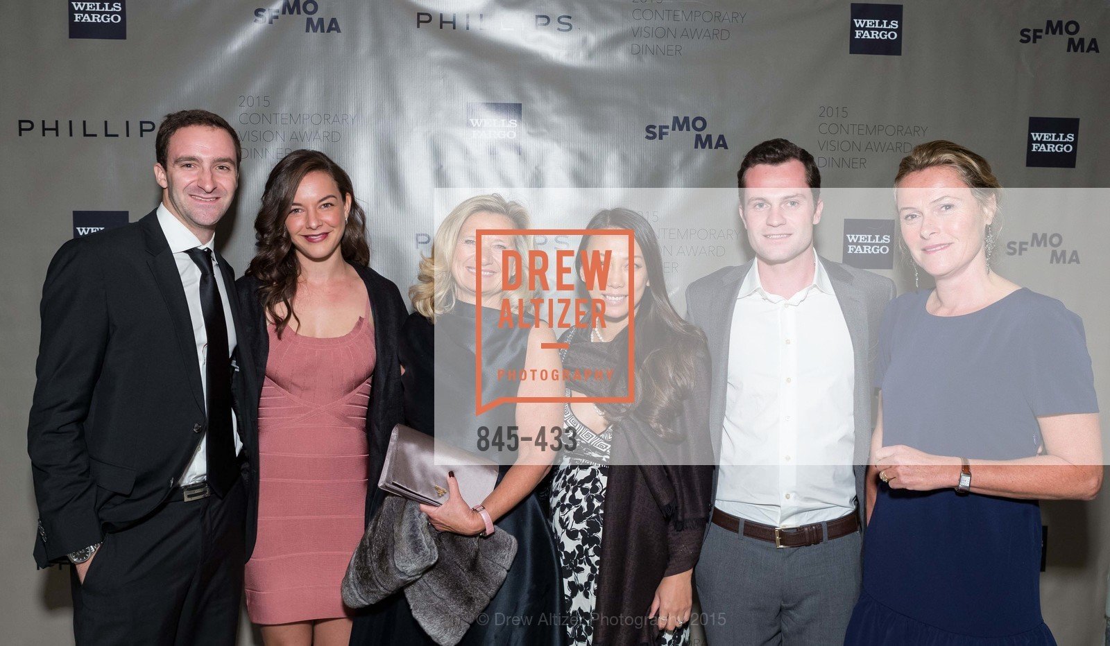 Cedric Schwab, Talia Touboul, Florence Buatois, Elena Gao, Matthew Decandia, Corine DeHemptinne, SFMOMA Contemporary Vision Award, Regency Ballroom. 1300 Van Ness, November 3rd, 2015,Drew Altizer, Drew Altizer Photography, full-service agency, private events, San Francisco photographer, photographer california