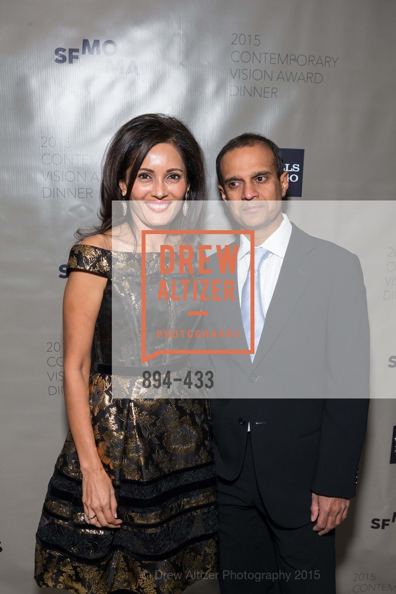 Komal Shah, Gaurav Garg, SFMOMA Contemporary Vision Award, Regency Ballroom. 1300 Van Ness, November 3rd, 2015,Drew Altizer, Drew Altizer Photography, full-service event agency, private events, San Francisco photographer, photographer California