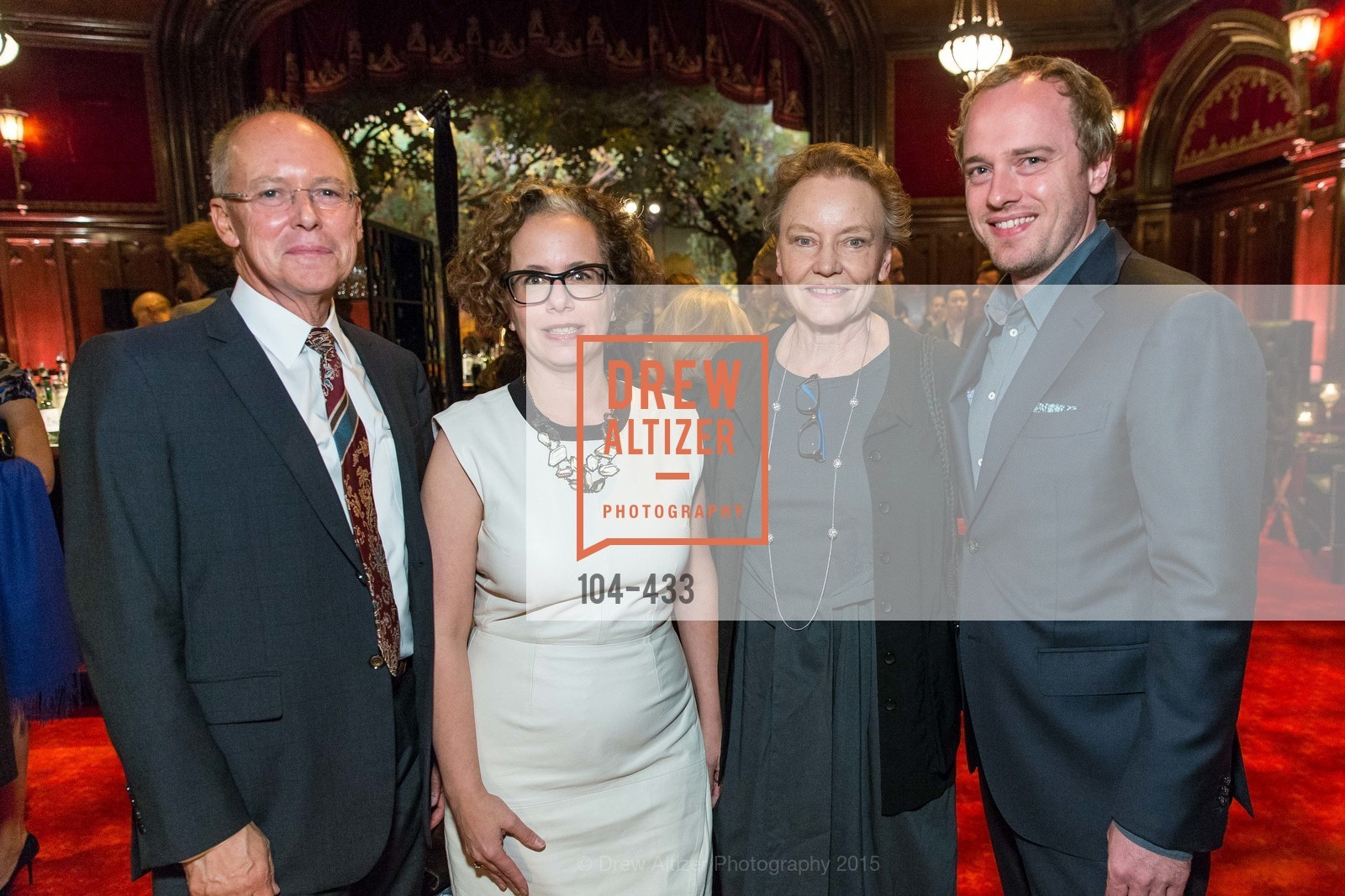 Charles Desmarais, Rachel Schreiber, Dee Hoover, Hesse McGraw, SFMOMA Contemporary Vision Award, Regency Ballroom. 1300 Van Ness, November 3rd, 2015,Drew Altizer, Drew Altizer Photography, full-service agency, private events, San Francisco photographer, photographer california
