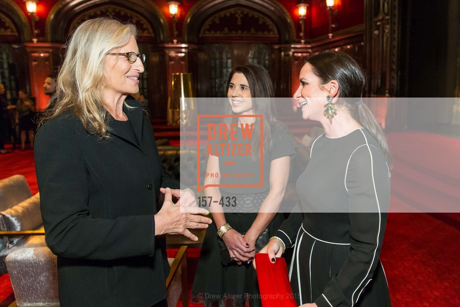 Annie Leibovitz, Candace Cavanaugh, Courtney Dallaire, SFMOMA Contemporary Vision Award, Regency Ballroom. 1300 Van Ness, November 3rd, 2015,Drew Altizer, Drew Altizer Photography, full-service agency, private events, San Francisco photographer, photographer california