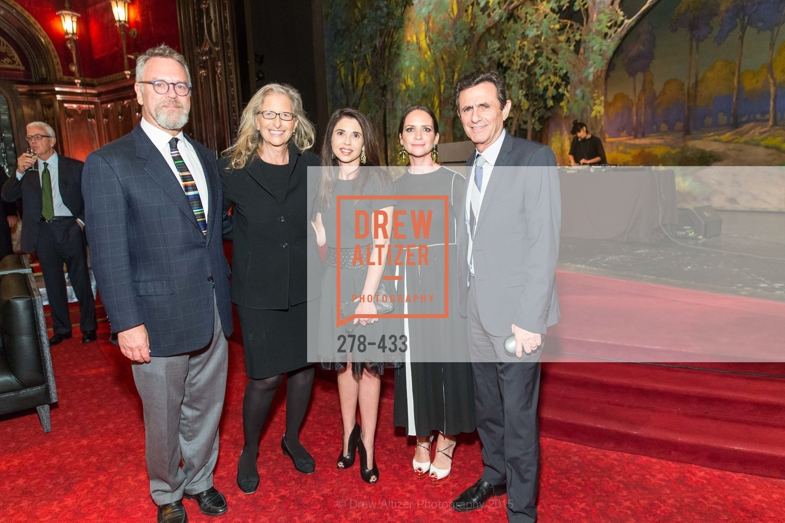 Nion McEvoy, Annie Leibovitz, Candace Cavanaugh, Courtney Dallaire, Neal Benezra, SFMOMA Contemporary Vision Award, Regency Ballroom. 1300 Van Ness, November 3rd, 2015,Drew Altizer, Drew Altizer Photography, full-service agency, private events, San Francisco photographer, photographer california