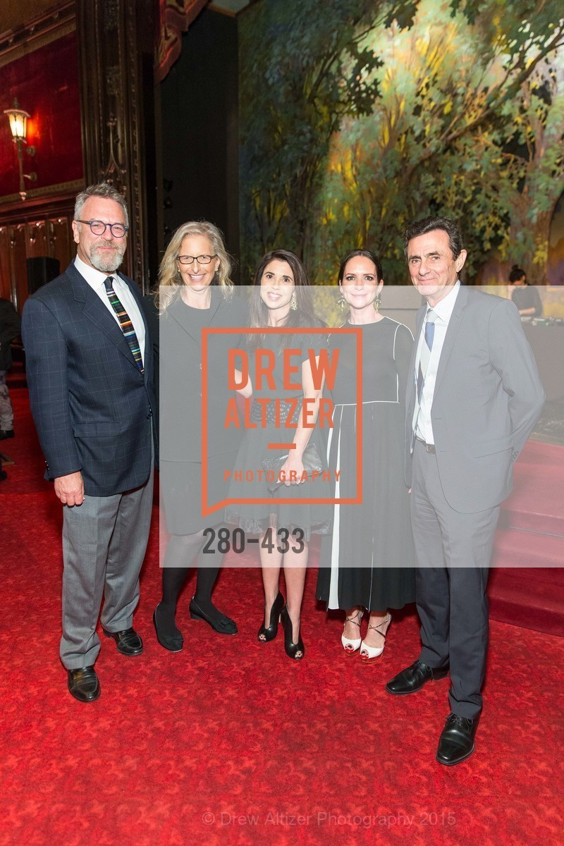 Nion McEvoy, Annie Leibovitz, Modern Art Council President Candace Cavanaugh, Courtney Dallaire, SFMOMA Director Neal Benezra, SFMOMA Contemporary Vision Award, Regency Ballroom. 1300 Van Ness, November 3rd, 2015,Drew Altizer, Drew Altizer Photography, full-service agency, private events, San Francisco photographer, photographer california