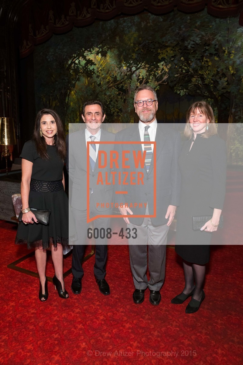 Candace Cavanaugh, Neal Benezra, Nion McEvoy, Leslie Berriman, SFMOMA Contemporary Vision Award, Regency Ballroom. 1300 Van Ness, November 3rd, 2015,Drew Altizer, Drew Altizer Photography, full-service event agency, private events, San Francisco photographer, photographer California