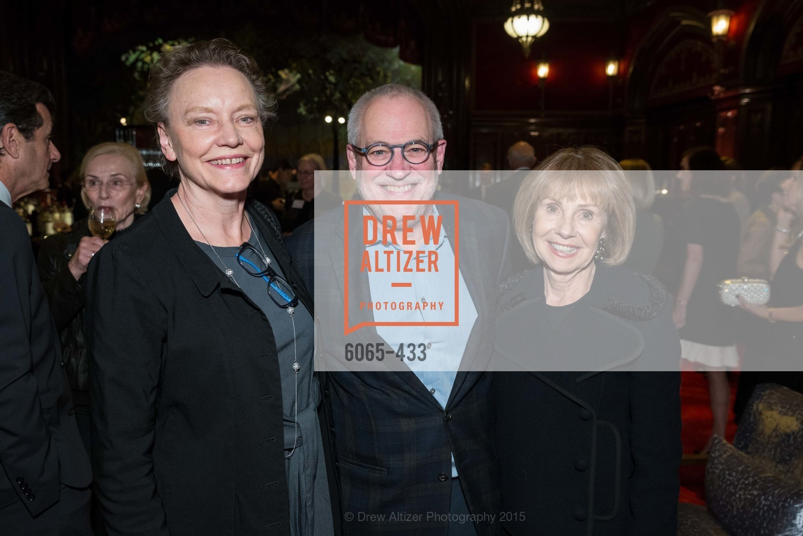 Dee Hoover, Gary Garrels, Joan Roebuck, SFMOMA Contemporary Vision Award, Regency Ballroom. 1300 Van Ness, November 3rd, 2015,Drew Altizer, Drew Altizer Photography, full-service agency, private events, San Francisco photographer, photographer california